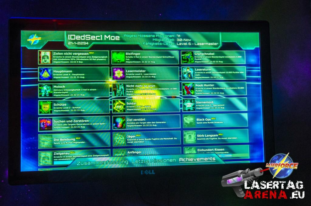 Der Memberstore von Laserforce Lasertag in Deutschland