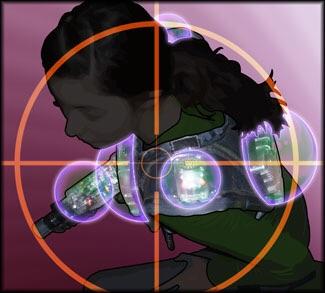 Laserforce Lasertag Weste und Phaser